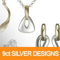 Silver and 9ct Gold Designs