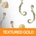 Textured Gold Designs